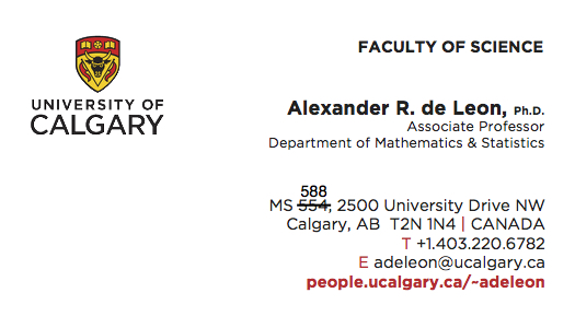 My photo i joined the department of mathematics and statistics at the i joined the department of mathematics and statistics at the university of calgary shortly after completing my phd statistics at the university of colourmoves