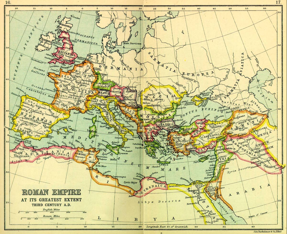 an analysis of the fall of the rome within its borders Excerpts from the book are we rome the fall of an empire and the six parallels between ancient rome and patrolling its streets, defending its borders.